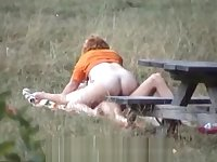 Parksex picnic table - by Helga