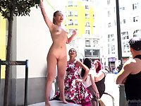 Public humiliation session with Tina Kay and Selvaggia