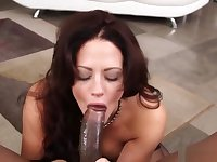 Holly Heart Gets Face Fucked By A Bbc