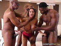 Brooklyn Chase Interracial Gangbang - Brooklyn Chase porn clip