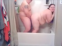 Brother and Step-Sister Shower Together