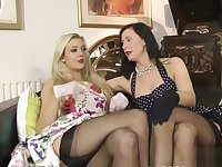 British les duo fingering after kinky foreplay