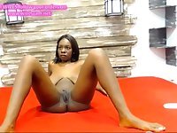 Ebony goddess with luxury giant tits in a free webcam