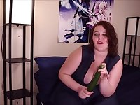Amber Xtra's Produce Food Masturbation Series