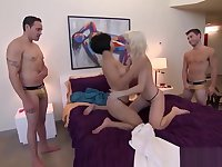 Foursome With Total Strangers Gives Them Numerous Orgasms