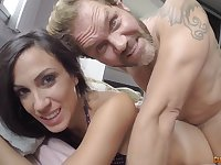 Hot latina brunette gets nailed by unshaved fucker Nacho Vidal