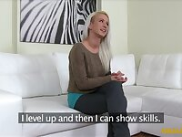 Blonde's Lap Dance and Sex Audition